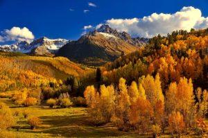 Colorado Mountain the fall