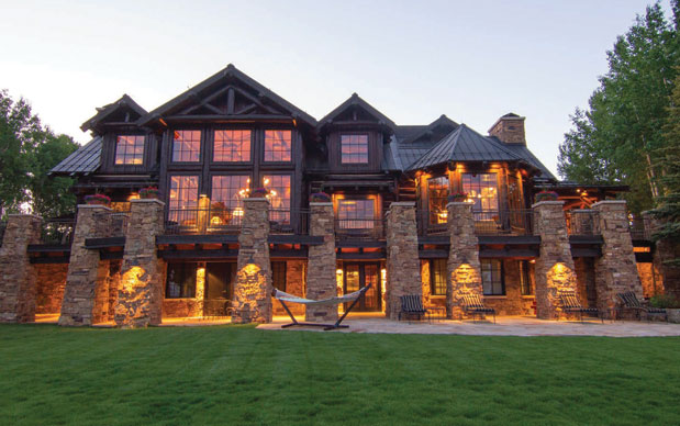 Exterior photo of a Global Luxury mountain home